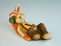 Фигурка  из керамика  Заяц мечтатель