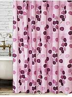 Шторка для ванной 180 на 200 Tropik Violet