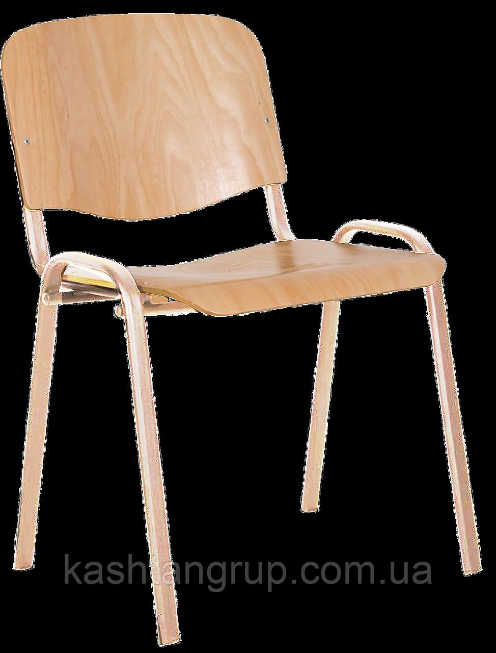 Стул ISO wood chrome