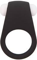 Эрекционное кольцо LIT-UP SILICONE STIMU RING 4 BLACK