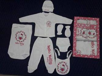 Подарочные наборы для новорожденных в ассортименте, 7 предметов