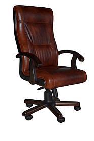 Кресло Честер Extra LE-09 (кожа корич)