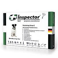 Inspector (Инспектор) TOTAL C 4-10кг - капли от внешних и внутренних паразитов для собак