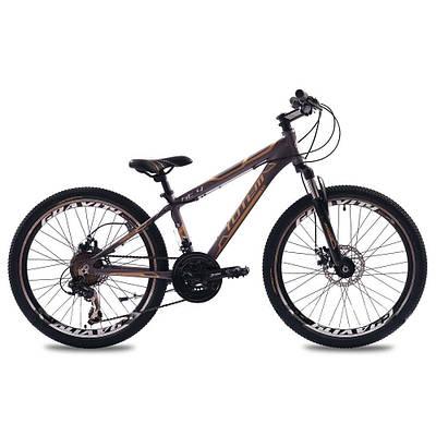 """Подростковый велосипед ARDIS HT4 MTB 24"""" 13"""" Серый"""