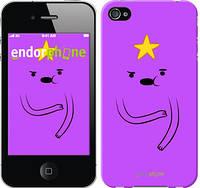 "Чехол на iPhone 4s Adventure Time. Lumpy Space Princess ""1122c-12-6129"""