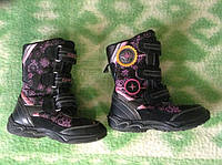 Сапоги детские (снегоходы) GEOX (оригинал), размер 28 (стелька 18см), б/у.
