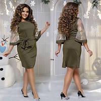 """Вечернее нарядное платье """"Сакура"""" 48-54 р"""