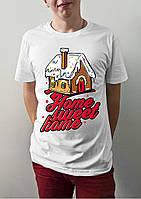 "Мужская футболка ""Home, sweet home"""