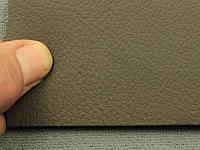 Авто кожзам темно-коричневый, на полиэтилене (Германия)
