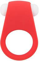 Эрекционное кольцо LIT-UP SILICONE STIMU RING 4 RED