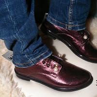 Кожаные женские туфли (натуральная кожа) 37р
