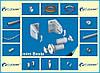 Механізм тканинних ролет відкритого типу вал 19мм