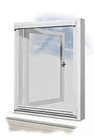 Рамная антимоскитная сетка на окно, фото 1