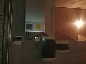 Настройка и запуск инвертора Omron, подключение группы защиты инвертора ETI