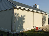 Жалюзи шторы для беседок и терас