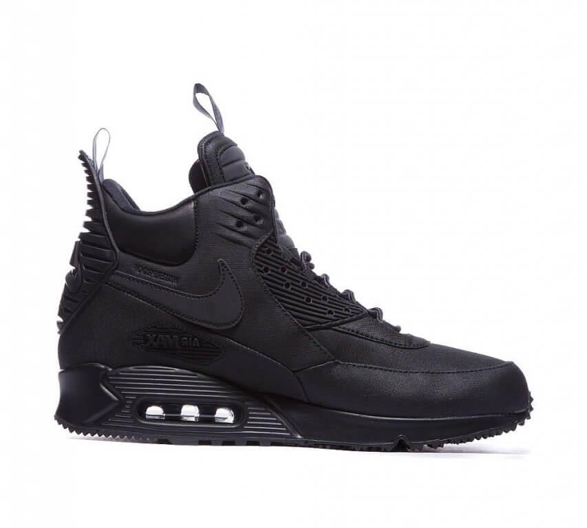 a34ceef07add Nike Air Max 90 SneakerBoot Winter Triple Black - Интернет магазин обуви  «im-РоLLi