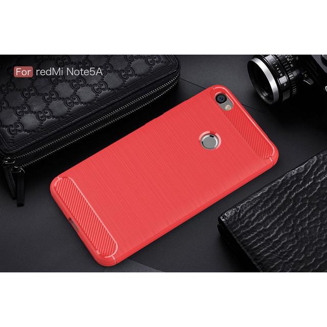 чехол Xiaomi Redmi Note 5A Prime накладка красный