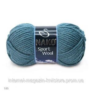 Пряжа Nako Sport Wool Джинс
