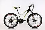 """Подростковый велосипед ARDIS AVENGER MTB 24"""" 13"""" Белый/Зеленый"""