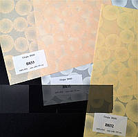 Ткань для тканевых роллет Круги   В 800