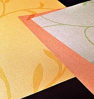 Ткань для тканевых роллет Узор растительность В 1000