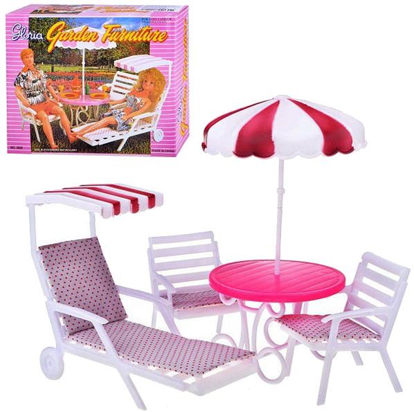 """Мебель для кукол Gloria 3920 """"Для отдыха"""""""