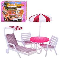 """Мебель для кукол Gloria 3920 """"Для отдыха"""", фото 1"""
