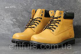 Мужские кожаные ботинки Timberland  натуральная кожа +2 цвета