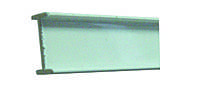 Т-профиль алюминиевый (без фурнитуры)