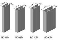 Алюмінієві направляючі для захисних ролет 66мм для 55-го профілю