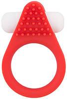 Эрекционное кольцо LIT-UP SILICONE STIMU RING 1 RED