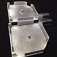Боковые крышки защитной роллеты 137мм, фото 1