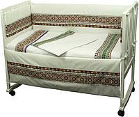 Ограждение в детскую кроватку 922  РУНО Орнамент