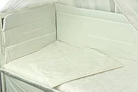 Ограждение в детскую кроватку 922 РУНО белое