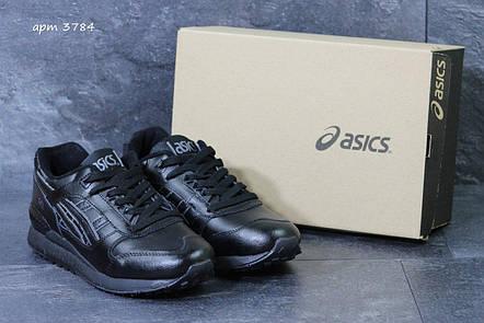 Кроссовки мужские Asics GEL LYTE III кожаные,черные, фото 2