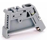 Фиксатор (ограничитель) пластиковый на DIN-рейку