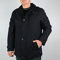 Зимние мужское пальто GARANT черного цвета р-48