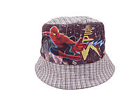 Серая панамка Spider-man