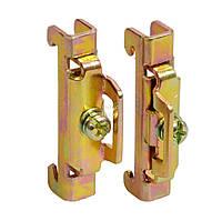 Фиксатор (ограничитель) металлический на DIN-рейку