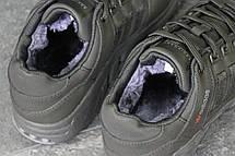 Зимние кроссовки Adidas Equipment ,нубук,черные, фото 3