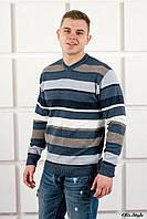 Мужской свитер Марсель мыс синий (46-50)