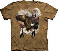 3D футболка мужская The Mountain р.S 46 RU футболки мужские с 3д принтом рисунком (Орлиный Щит)