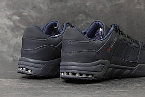 Зимние кроссовки Adidas Equipment ,нубук,темно синие, фото 2
