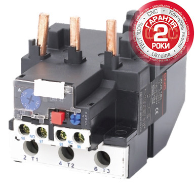 Электротепловое реле JR28 к пускателям типа CJX2 — CNC™