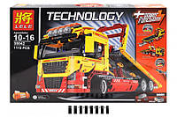 "Конструктор Lele Technology 38042 ""Грузовик с платформой 2 in 1"", (аналог LEGO Technic 8109), 1115 дет"