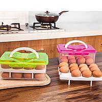 Пластиковый лоток для хранения яиц (24шт.)