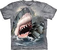 3D футболка мужская The Mountain р.S 46 RU футболки мужские с 3д принтом рисунком (Акулий Бросок)