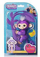Fingerlings Monkey, Интерактивная игрушка обезьянка, Ручная обезьянка игрушка, Обезьянка на палец