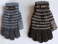 Перчатки для мальчика двойные 5-8 лет