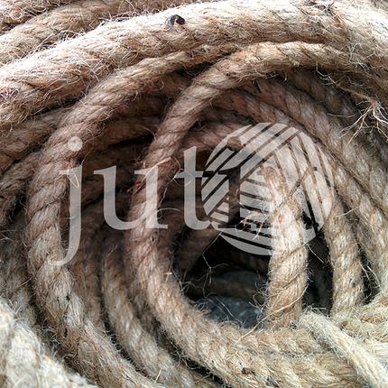 Джутовая веревка 8 мм, фото 2